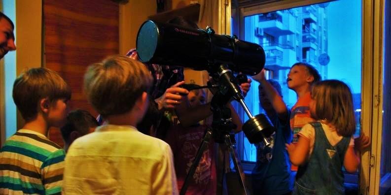 выбор телескопа для ребенка